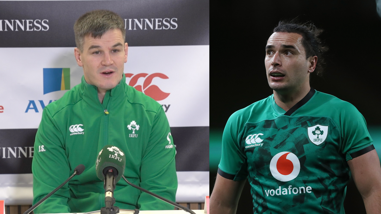 Johnny Sexton reacts to dominant win over Wales | Ireland Press Conference | Autumn Nations Cup |