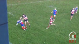 Scottish club rugby brawl after late tackle