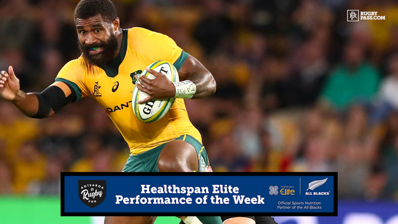 Healthspan Elite Performance of the Week | Bledisloe 4 | Aotearoa Rugby Pod