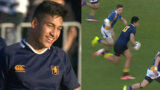 Rieko Ioane's schoolboy highlights for Auckland Grammar just 3 years before becoming an All Black