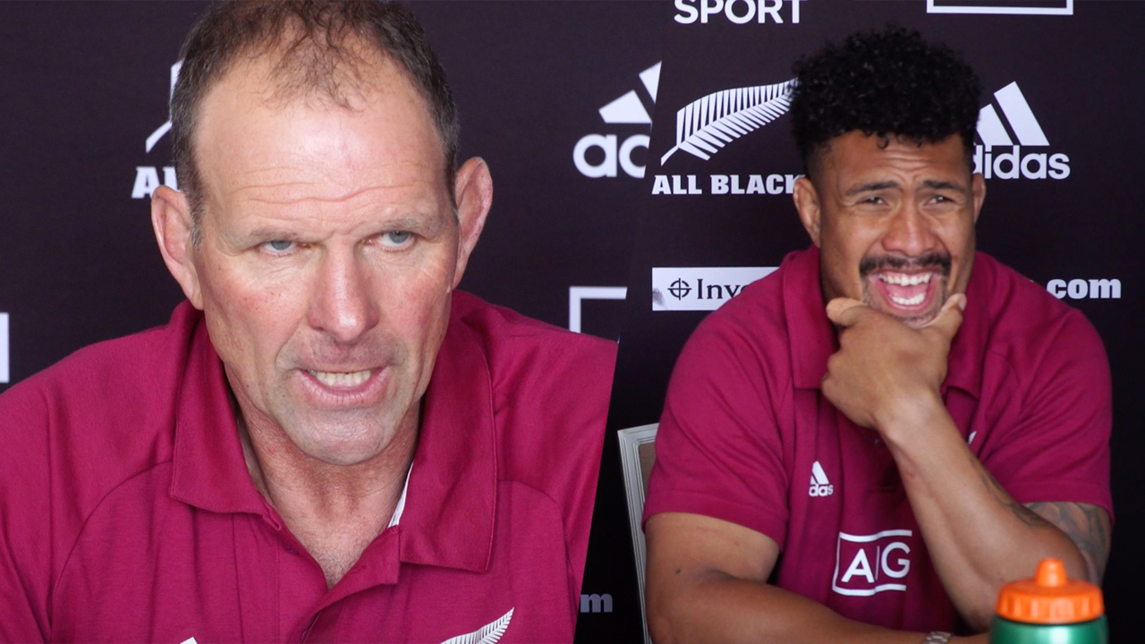 Savea and Plumtree | New Zealand Press conference | Tri Nations 2020