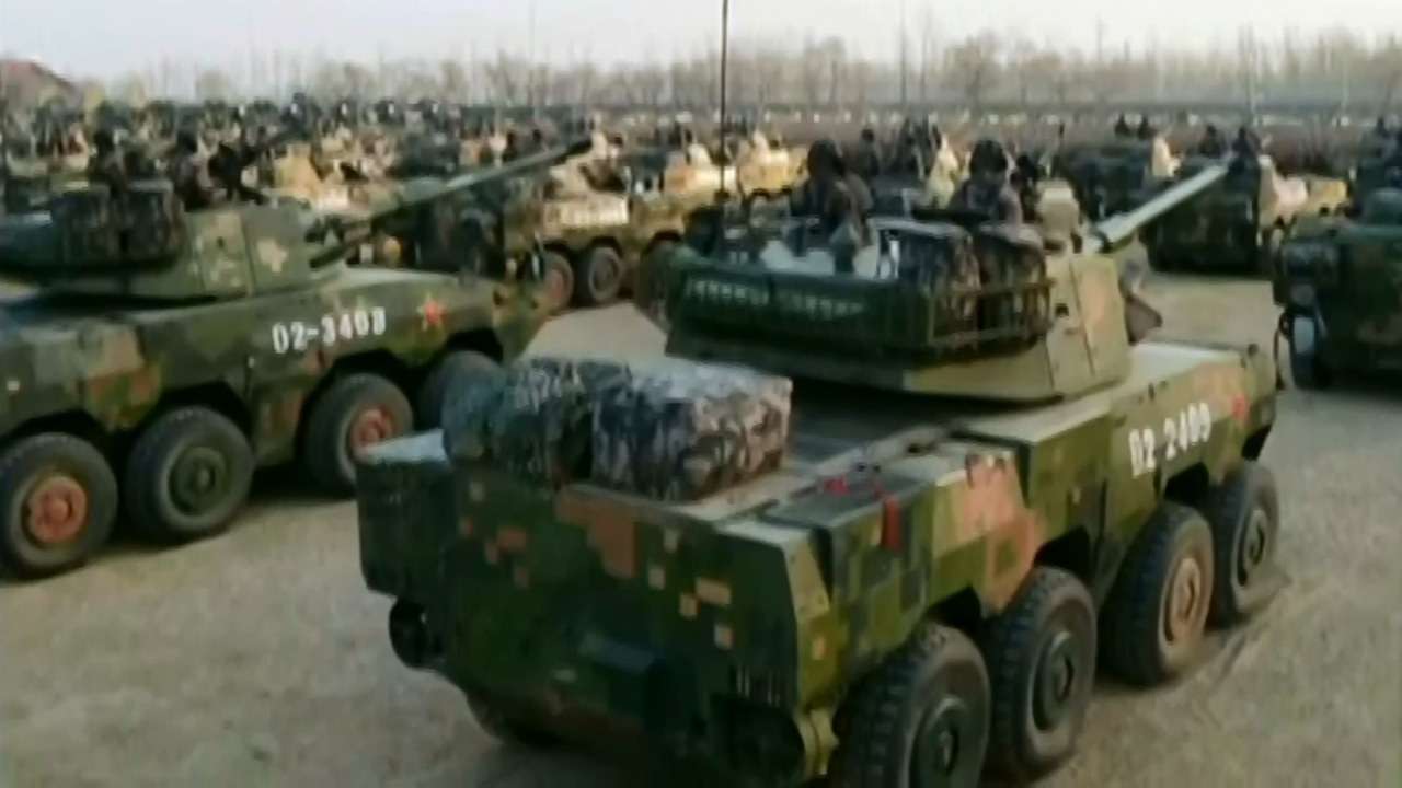 China's military tech: Inside weapons arsenal