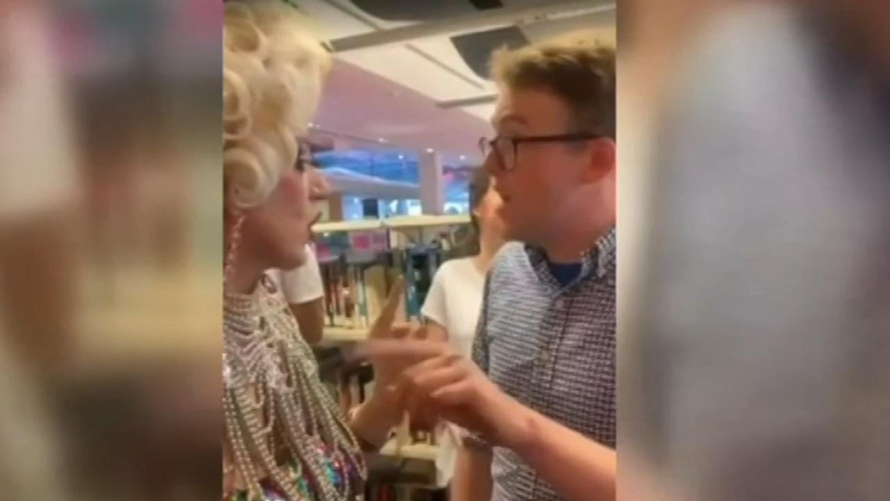 University students caught on film shaming drag queens | Sky News Australia
