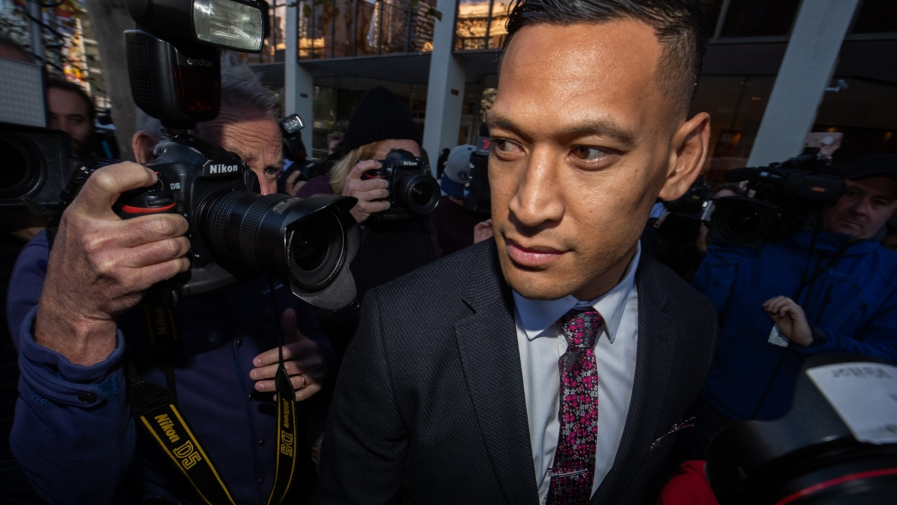 Folau vows to continue to preach against abortion, same sex marriage