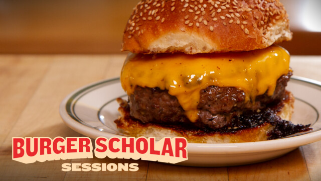 How to cook a perfect steakhouse burger with George Motz