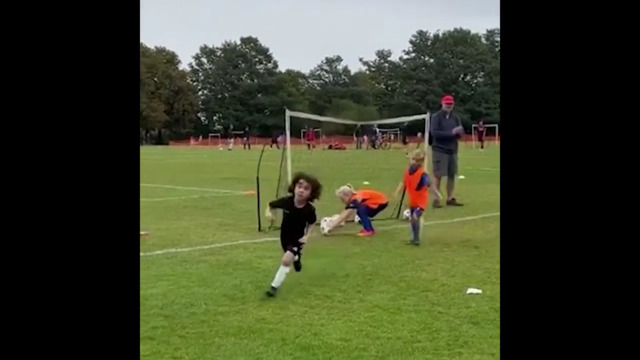 Meet the 5-year-old footballer scouted by Arsenal