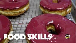 Making doughnuts at The Doughnut Project