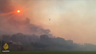 Cape Town fire 'contained': Landmarks destroyed, evacuations continue