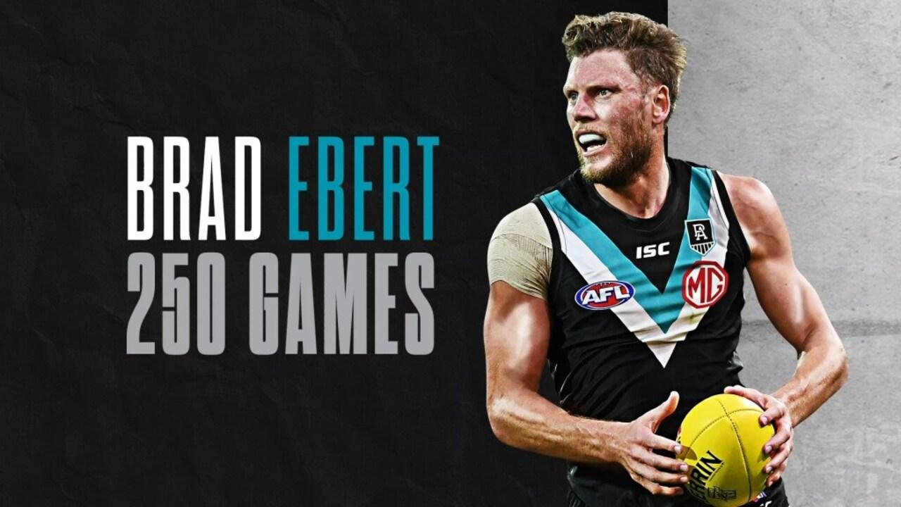 Brad Ebert 250 Games Ptv