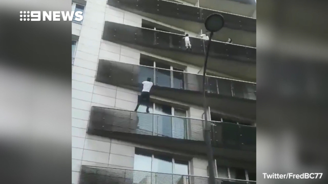 France offers man citizenship after he climbs building to rescue boy