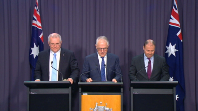 Australian prime minister declares leadership open - spokesman