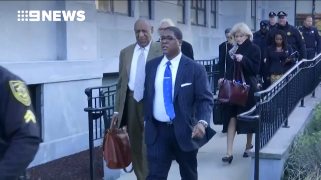 Cosby frets as abuse retrial begins under shadow of #MeToo