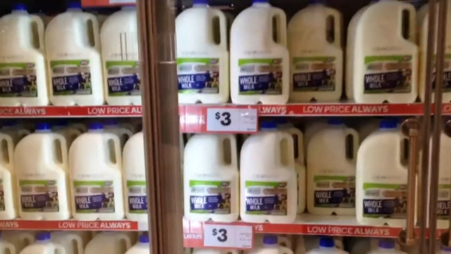 Supermarkets drought milk 'half-baked'