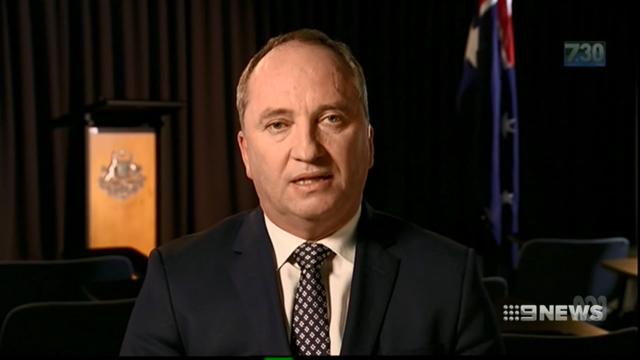 Malcolm Turnbull calls Barnaby Joyce affair