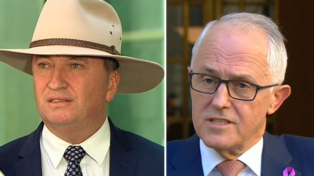 Deputy PM Joyce should resign: Newspoll