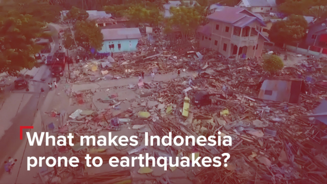 Girl scout among 34 dead found in Indonesian quake quagmire