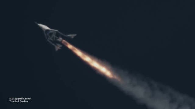 First images of Virgin Galactic's successful space plane test flight