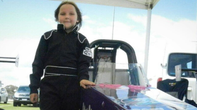Eight-year-old girl dies after drag racing crash