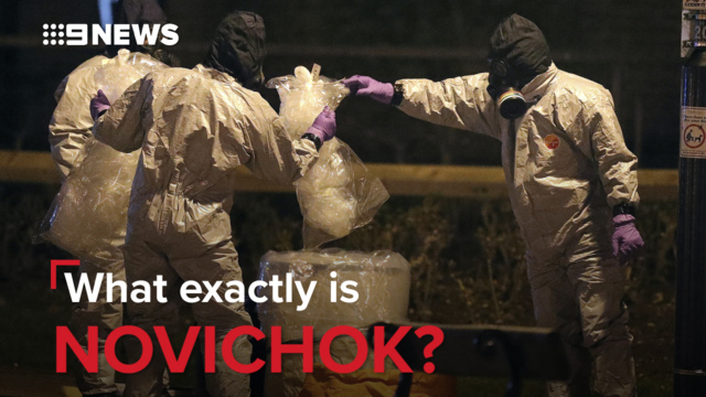 United Kingdom police say poisoned couple handled a large amount of Novichok