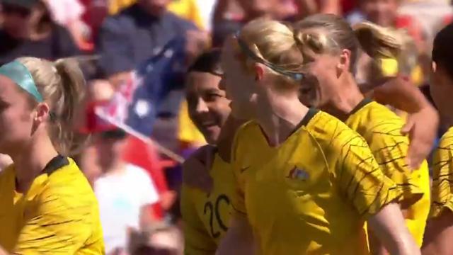 Matildas score from the penalty spot