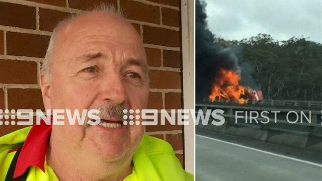 Man Trapped In Ute Dies In Horror NSW Truck Crash