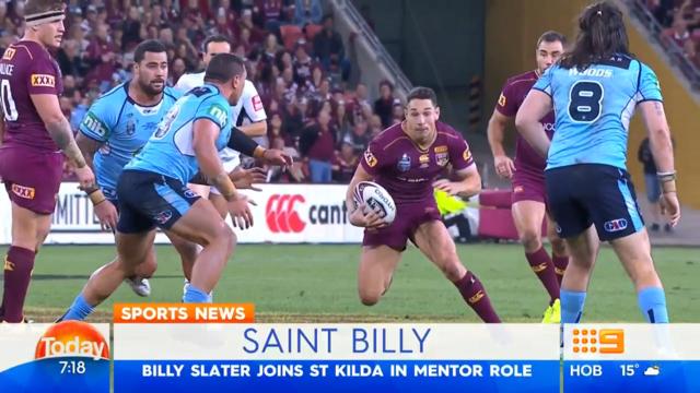 Slater set for Saints switch
