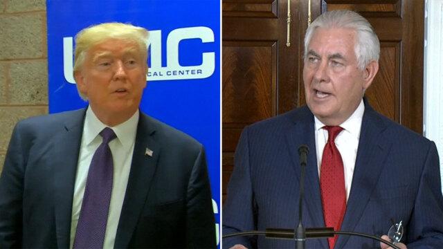 Trump dumps Secretary of State Rex Tillerson