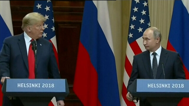 United States officials in the dark over Trump's Helsinki deals