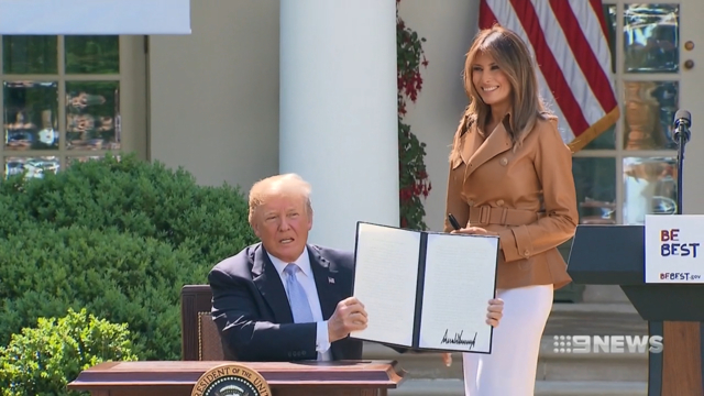 Melania Trump to make solo Africa trip