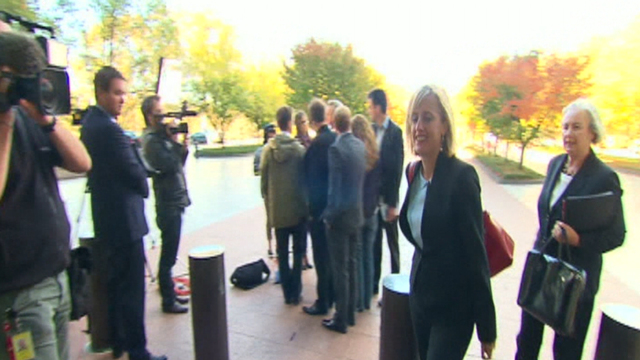 Labor Senator Katy Gallagher faces High Court referral over dual citizenship