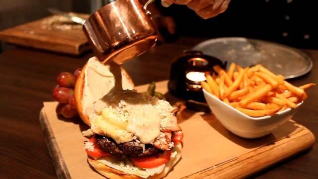 World's first fondue burger hits Sydney