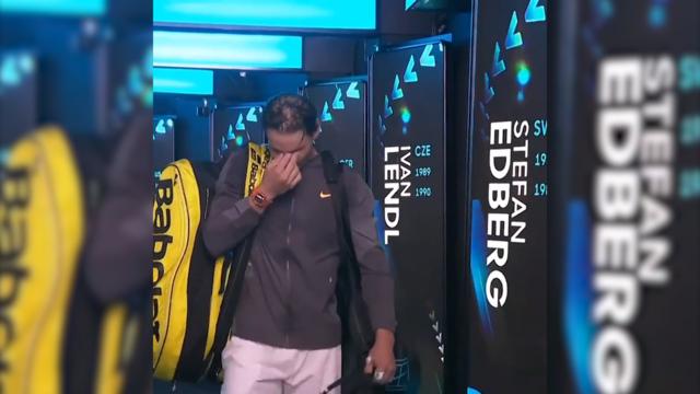 Nadal in tears after semi-final win