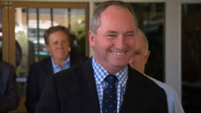 Barnaby vows to fight hard for New England