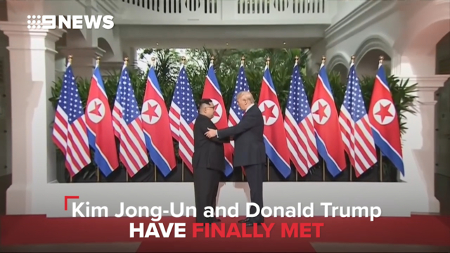 Trump continues to praise himself for North Korea summit