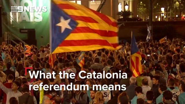 What the Catalonia referendum means