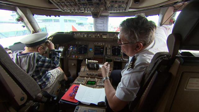 Jumbo Joy Flight' offers children the 'ride of their lives'
