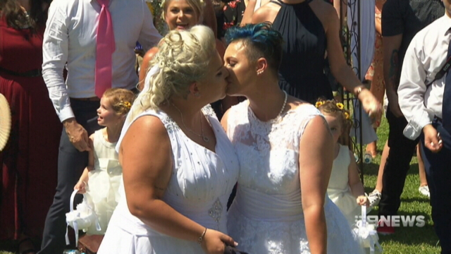 First of same-sex marriages take place