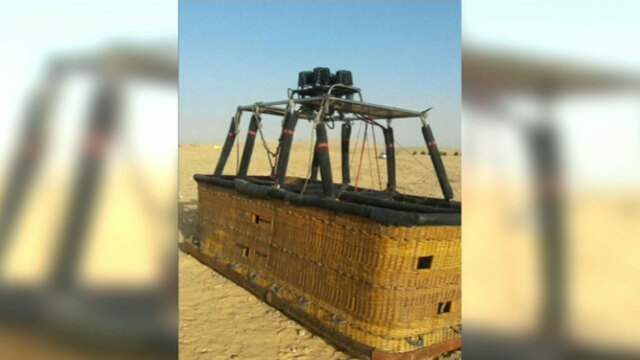 One Tourist Killed, Several Injured In Luxor Hot Air Balloon Crash