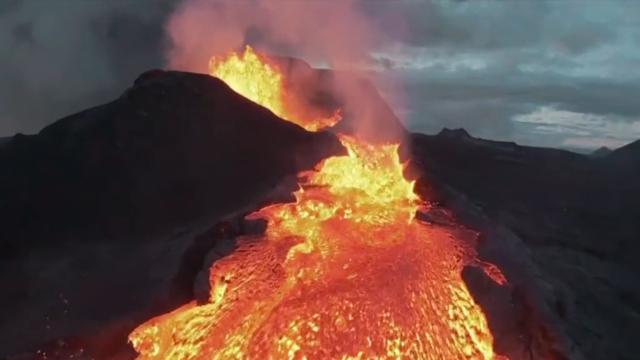 Three Volcanoes Erupting in Alaska