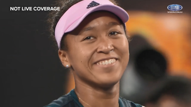 Osaka wins the 2019 Australian Open
