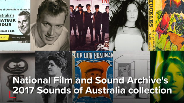 New inductees into Sounds of Australia collection