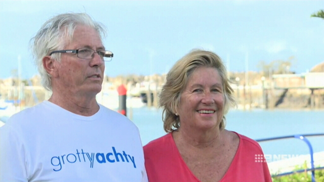 NEWS: Rescuers of fishermen from Queensland's trawler disaster talk about the rescue