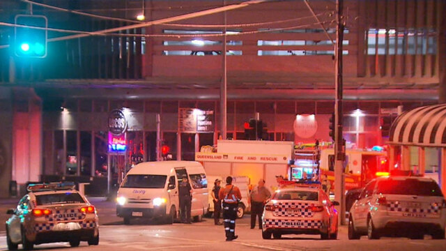 Footage emerges of woman struck down by tractor crane in Bowen Hills