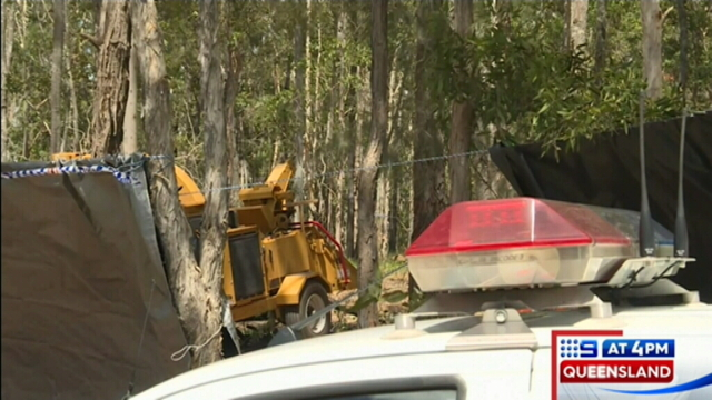 Police raid as horror woodchipper death declared suspicious