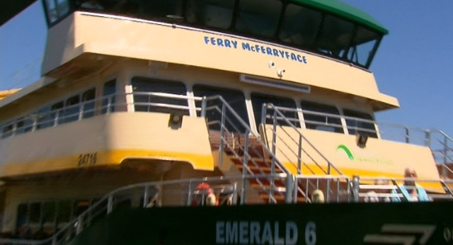 Name of Sydney's controversial Ferry McFerryface scrapped