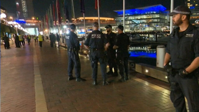 Kings Street Wharf: Riot squad called in after paramedic