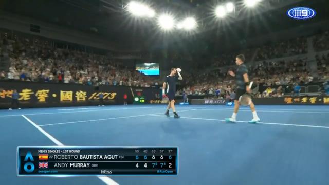 Murray falls to Bautista Agut