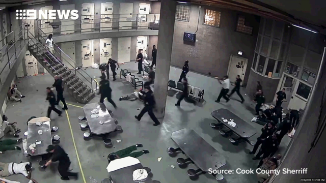 16 inmates indicted after brawl at Cook Co. Jail