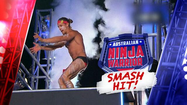Ninja Warrior smash hit