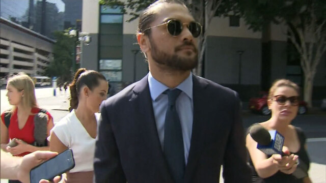 Karmichael Hunt fined as cocaine possession charges dropped